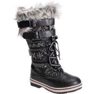 Muk Luks Allie Faux Fur Winter Boot Sizes 6, 9, 10